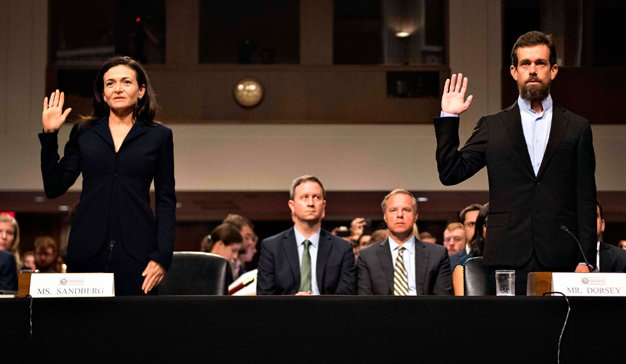 Facebook y Twitter en el Senado de Estados Unidos: mucha teoría y poca práctica