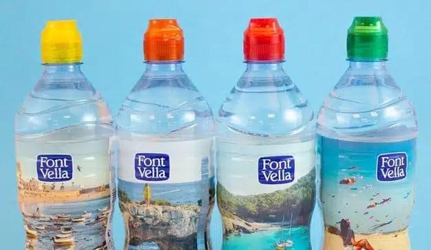 Font Vella se ve envuelta en el conflicto catalán, sin comerlo ni beberlo, por el color de su packaging