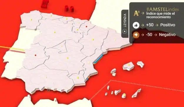 Amstel Index, el nuevo índice que mide el reconocimiento de los españoles