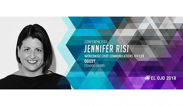 #ElOjo2018 presenta a Jennifer Risi como Conferencista