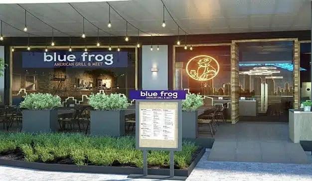 AmRest impulsa la expansión de Blue Frog en España con la apertura de 4 nuevos locales