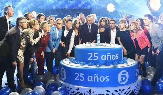 Telecinco lidera la audiencia televisiva en septiembre con un 13,9% de cuota