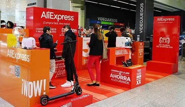 AliExpress y El Corte Inglés sellan un acuerdo pionero para abrir una