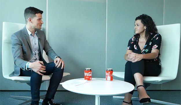 ADN Disruption by Dentsu Aegis Network: Ana Castro (The Coca-Cola Company) y David Forcadell (Coca-Cola Western Europe Carat)