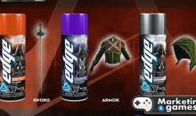 Marca de gel de barbear utiliza do game Assassins Creed para promover seu produto
