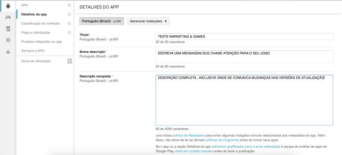 Tutorial Publicar Android 3