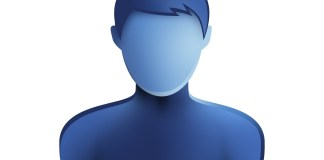 blue man icon