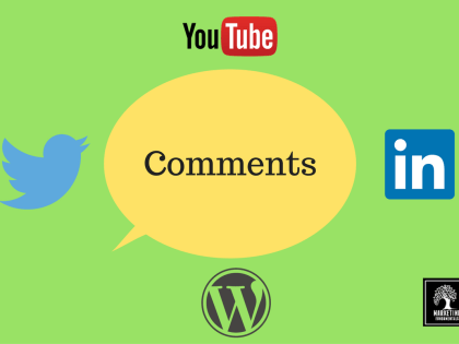Social Media: How to use Comments to Raise Your Profile
