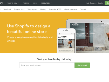 e-Commerce – Why do we Recommend Shopify?
