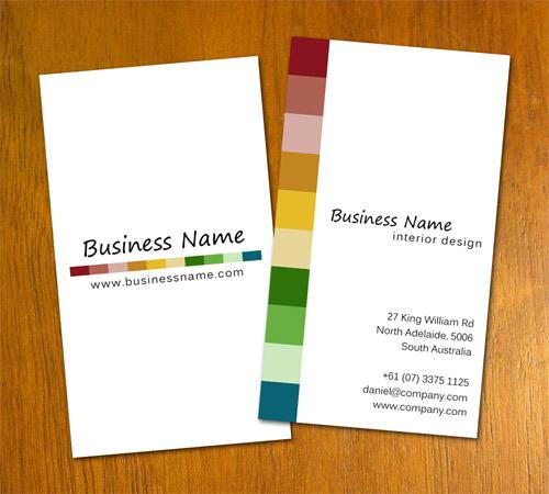 Interior Decorating Business Card Templates
