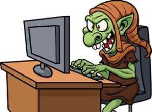 troll en internet