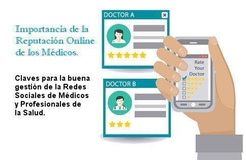 Reputacion online medicos y redes sociales medicos y salud