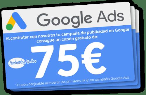 Google Ads medico y salud. Campaña anuncios Google medicos y clinicas