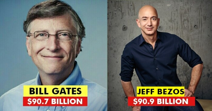 Amazon Ceo Jeff Bezos Overtakes Bill Gates To Become The World S