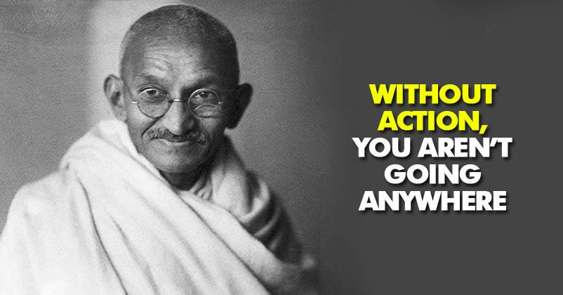 Mahatma Gandhi Is Known As U201cthe Father Of Our Nationu201d, He Is One Of The  Greatest Marketers Of All Time, He Inspired The People Of The Nation To  Rise Up For ...