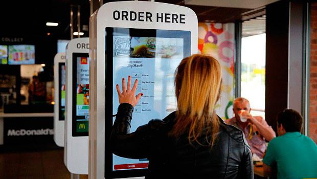 McDonalds self ordering