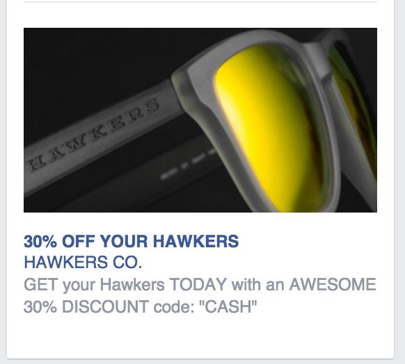 Facebook hawkers