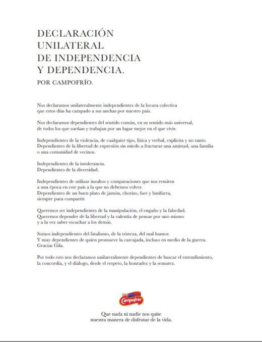 Campofrío se moja: quiere entendimiento