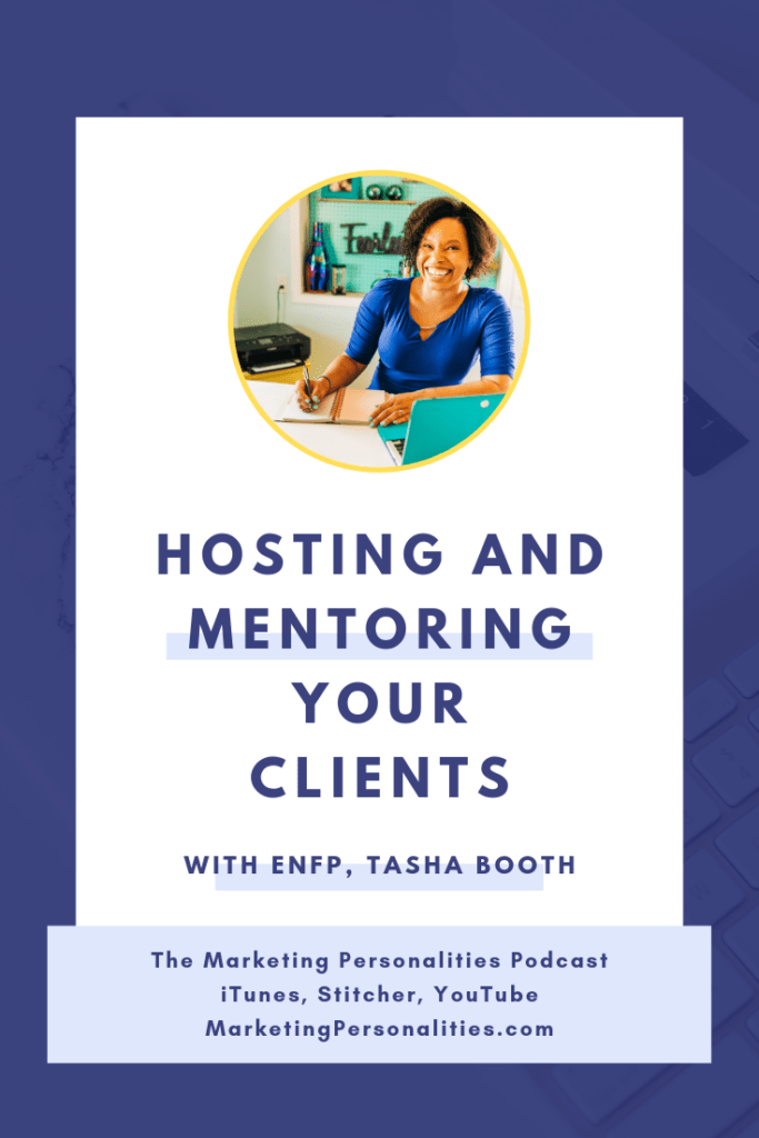 Hosting and Mentoring Your Clients with Tasha Booth of The Launch Guild on the Marketing Personalities Podcast hosted by Brit Kolo