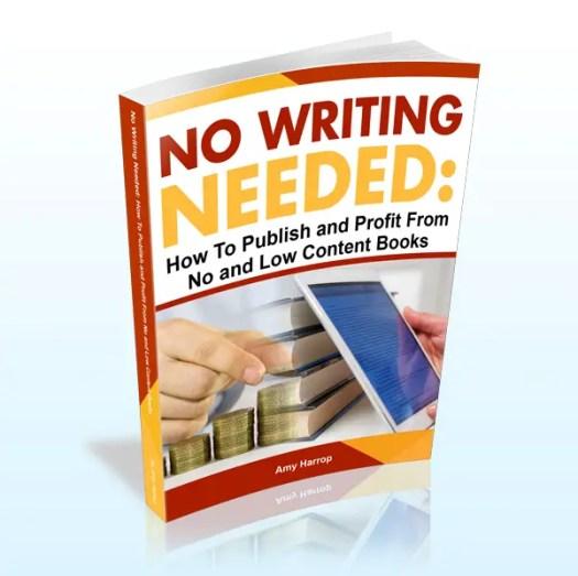 no writing needed