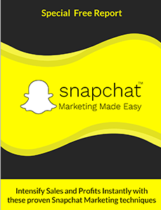 free report snapchat marketing made easy