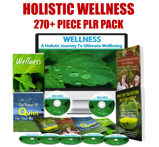 holistic wellness plr
