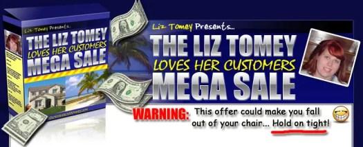 Liz Loves Her Customers Special Deal
