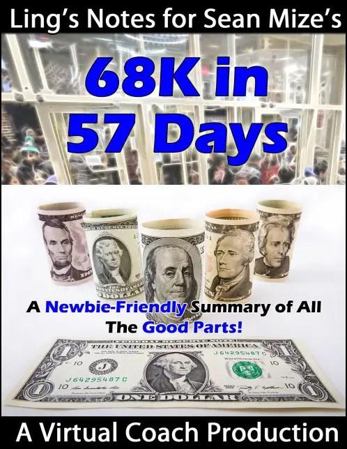 68K in 57 Days