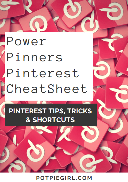 Pinterest CheatSheet