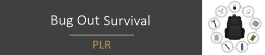 Bug Out Survival PLR