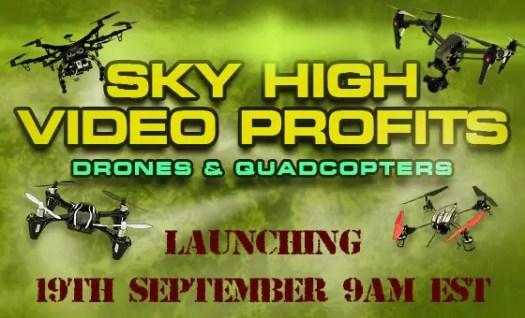 Drones And Quadcopter PLR Review Videos<B data-recalc-dims=