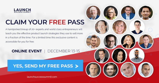 Launch Success Summit - Free Pass