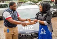 British-Trained Nigerian Celebrity Chef, Zara Mustapha Becomes Dangote Salt Brand Ambassador -marketingspace.com.ng