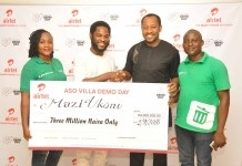 Aso Villa Demo Day Winners Smile Home With Cash Prizes As Airtel Rewards Winners -marketingspace.com.ng