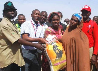 Nigerian Bottling Company Donates Relief Items to IDP Camp in Borno-marketingspace.com.ng