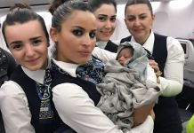 Woman Delivers Baby Girl Onboard Turkish Airlines-marketingspace.com.ng