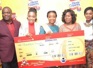 Oluwakemi Longe Emerges Three Crowns Milk 2017 Mum of the Year-marketingspace.com.ng