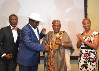 CMC Connect GMD, Badejo-Okusanya, Bags 'Bob Ogbuagu Leadership Award'-marketingspace.com.ng