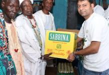 Ibadan Chiefs, Artiste, Consumers Applaud Sabrina For Supporting Oke'badan Festival-marketingspace.com.ng