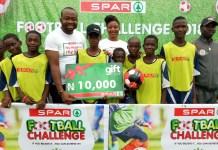 SPAR Nigeria Kicks Off Football Challenge-marketingspace.com.ng