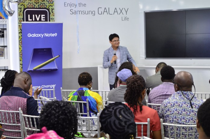 The Game Changer, Samsung's Galaxy Note9 Enters Nigerian Market-marketingspace.com.ng