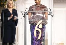 "Chimamanda Ngozi Adichie Receives ""Thought Leadership"" Award From Global Hope Coalition-marketingspace.com.ng"