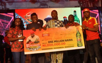 More Winners Emerge In The Hero Beer Consumer Promo-marketingspace.com.ng