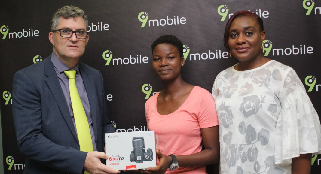 Oluwatoyin Christiana Obafemi Wins 9mobile Photography Competition-marketingspace.com.ng
