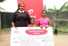 Security Guard, Wife Commend Airtel Employees for Saving Son's Life - marketingspace.com.ng