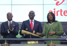 Airtel Africa Lists On The Main Board Of The Nigerian Stock Exchange-marketingspace.com.ng