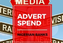 Infographics: Nigerian Banks Advert Spend For June 2019-marketingspace.com.ng