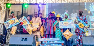 Sir Shina Peter, Debola Lagos, Other Celebrities Light-Up Ofada Rice Day Festival-marketingspace.com.ng