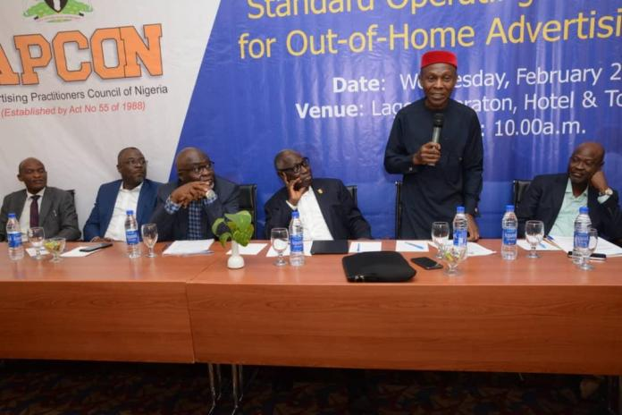 OAAN, APCON Institute Standard Operating Procedure for Out-of-Home Advertising Industry-marketingspace.com.ng