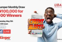 UBA Rewards 100 Customers With N100,000 Amid COVID 19 Meltdown-marketingspace.com.ng